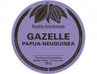 GAZELLE 75% - Swiss Bean to Bar - 60g