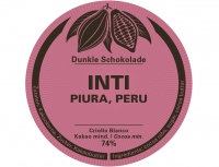 INTI 74% - Swiss Bean to Bar - 60g